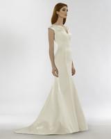 steven birnbaum spring 2020 wedding dress v-neck trumpet