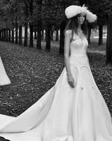 vera wang fall 2018 a-line wedding dress
