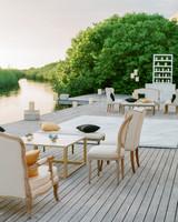 vicky james mexico sunset lounge dock