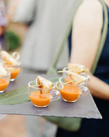 wedding food pairings elaine palladino