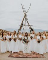 white bridesmaid dresses greg petersen