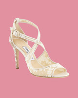 "Jimmy Choo ""Emily"" Lace Sandals"