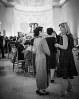 winter wedding guest attire women in seasonal dresses