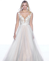 wtoo by watters illusion sleeveless a line wedding dress spring 2020