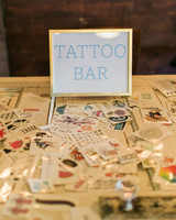 12 alternative entertainment ideas for a unique wedding reception tattoo bar junglespirit Images