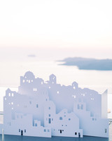 angie prayogo greece wedding santorini art