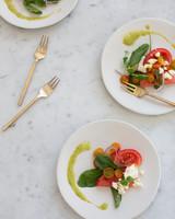menu salad