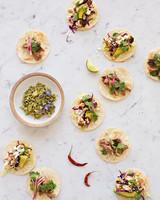 wedding tacos
