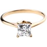 Bario Neal Princess Cut Engagement Ring