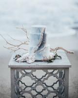 beach wedding cakes bluecat photography