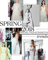 Spring 2018 Bridal Fashion Week Trends