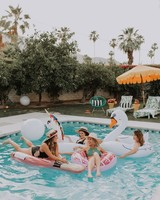 Pool Party Bridal Shower