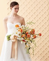 Orange and White Bouquet