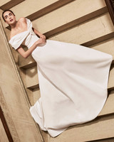 Carolina Herrera wedding dress spring 2019 off the shoulder a-line