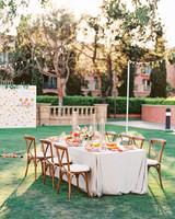 cavin david wedding reception tables