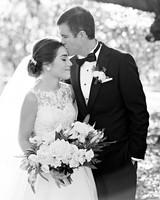 celina rob wedding virginia couple black white