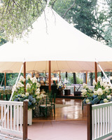 charles andrew wedding reception tent