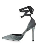 wedding shoes velvet