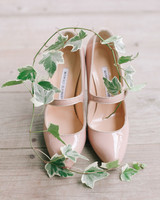 Nude Mary Jane Heels
