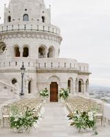 diana alex wedding ceremony terrace