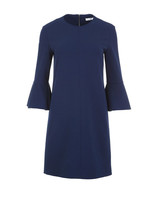 engagement party dress tibi bell sleeve