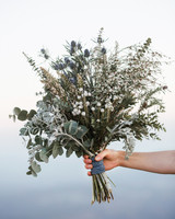 rustic herb wildflower floral bouquet