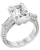 Jack Kelége Emerald-Cut Engagement Ring