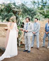 jackie dave wedding ceremony