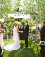 Wedding Arch Canopy With Roses