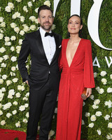 Jason Sudeikis and Olivia Wilde at 2017 Tony Awards