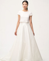 50 Two-Piece Wedding Dresses | Martha Stewart Weddings