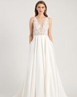 29e94ddc3d0c jenny by jenny yoo wedding dress deep v-neck sleeveless embellished bodice  a-line