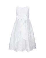 Jayne Copeland Taffeta Fit-and-Flare Dress