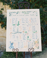 laurie michael wedding seating chart