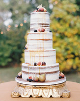 madeline brad wedding cake