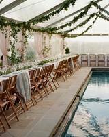 meg nick wedding reception tables