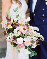 megan scott wedding bridal bouquet