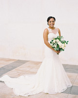 melissa justen wedding bouquet white