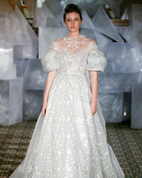 mira zwillinger wedding dress spring 2019 off-the-shoulder pouf sleeves