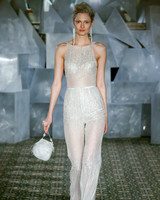 mira zwillinger wedding dress spring 2019 sheer high-neck jumpsuit