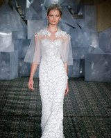 mira zwillinger wedding dress spring 2019 applique sweetheart sheer cape
