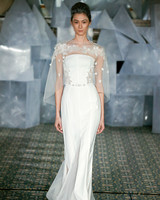 mira zwillinger wedding dress spring 2019 strapless belted applique cape