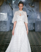 mira zwillinger wedding dress spring 2019 applique a-line cape