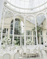 momina jack wedding reception venue high ceilings white