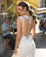 Muse by Berta Embellished Open Back Wedding Dress Fall 2018