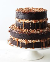 Naked Chocolate Stout Cake