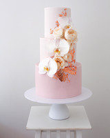 orchid flower wedding ideas sweet bakes