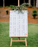 paige and kristine wedding seating chart
