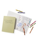 personalized coloring book favor