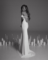 Rime Arodaky Fall 2017 wedding dress sheer back